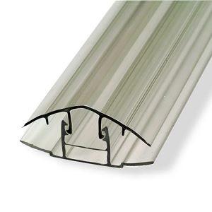 Профиль для поликарбоната разъемный 6-10 мм