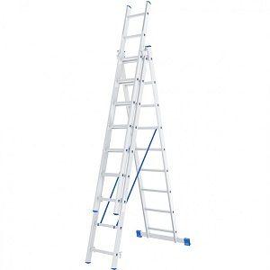 Лестница трехсекц 3-9 ступ